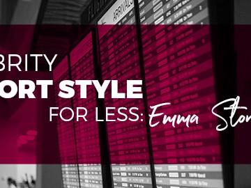 Celebrity Airport Style - Emma Stone