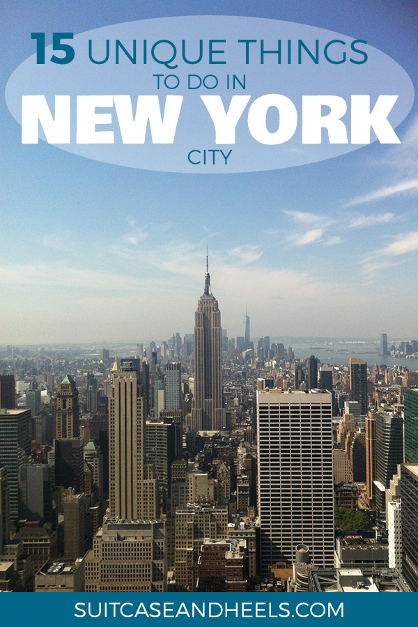 Unique Things to Do in New York City