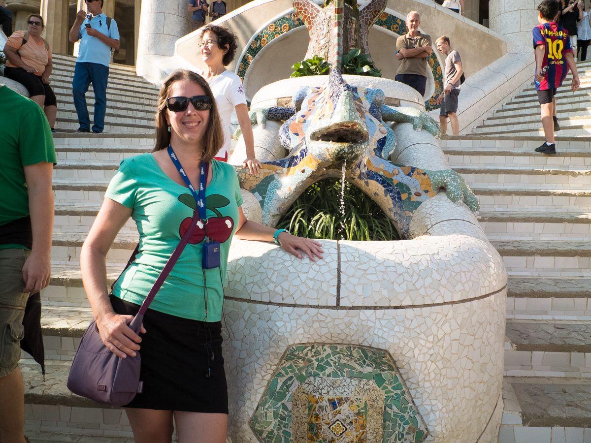 Travel bag in Barcelona